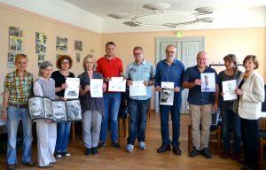 Auswahl 5. WiF 2017 im Rathaus Bernau