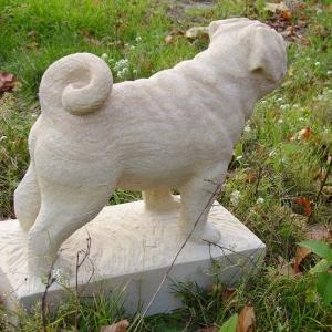 Steinmops 2007, Postaer Sandstein, Geschenkauftrag